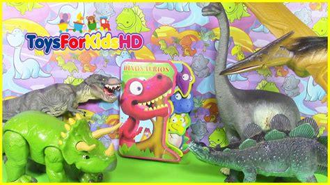 Videos de dinosaurios para niños, libro de dinosaurios ...
