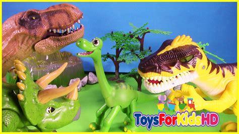 Videos de Dinosaurios para niños Los Grandes Amigos ...
