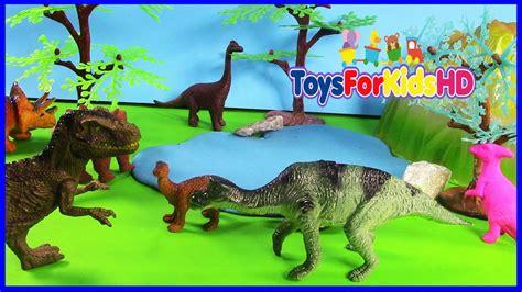 Videos de Dinosaurios para niños MAIASAURA   Juguetes de ...