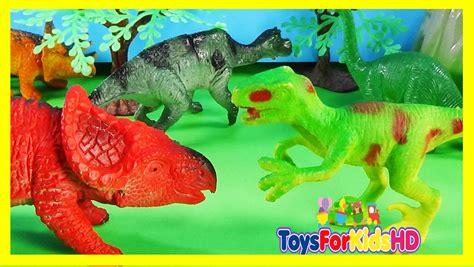 Videos de Dinosaurios para niños Velociraptor v/s ...