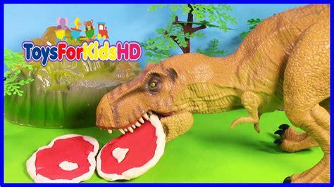 Videos de Dinosaurios Tyrannosaurus Rex   Juguetes de ...