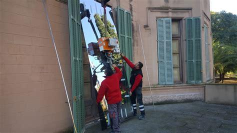 Vidrios de seguridad en el Museu Palau Mercader ...