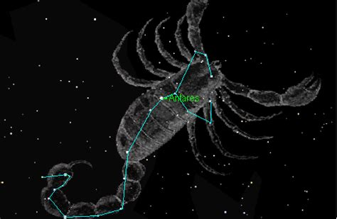 View from Mars Hill: Scorpius ready to strike tonight ...