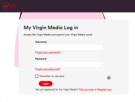 View your bill online   Virgin Media Ireland