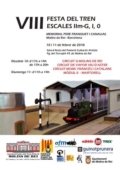VIII Festa del Tren, Escales IIm G, I i 0 a Molins de Rei ...