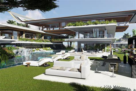 Villa Xálima, una isla de ENSUEÑO   Futuristic house ...