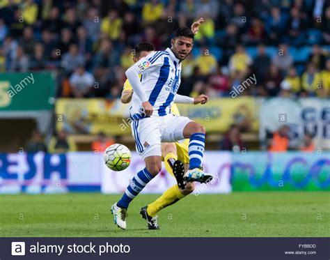 Villareal, Spain. 24th April, 2016. Carlos Vela of Real ...