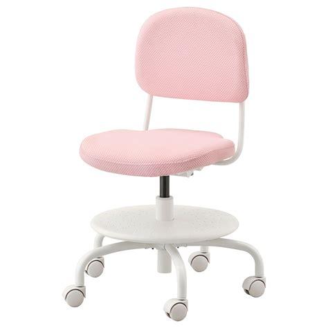 VIMUND Silla escritorio niño, rosa claro   IKEA