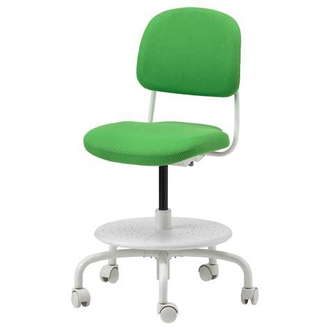 VIMUND Silla escritorio niño, verde vivo   IKEA