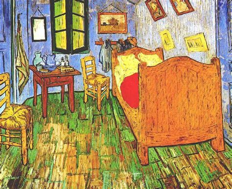 Vincent s Bedroom in Arles 2   Van Gogh   oil painting ...