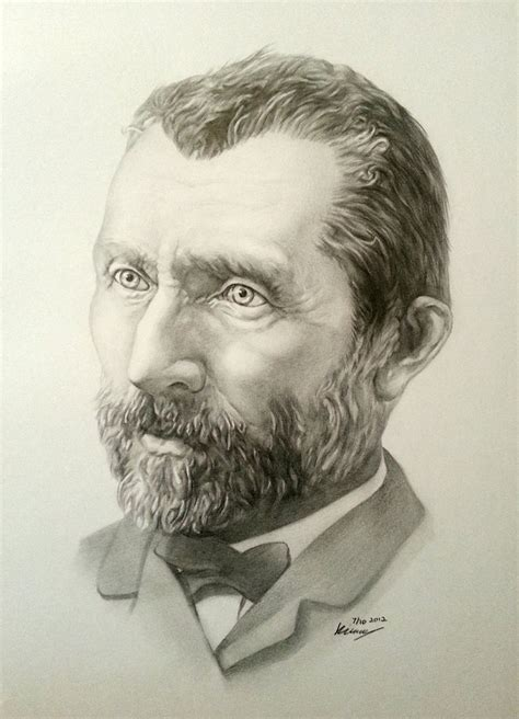 Vincent van Gogh by SolyiKim on DeviantArt