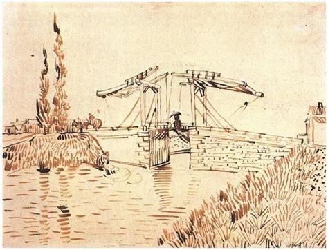 Vincent van Gogh Drawing, Pen Arles: 15 May, 1888 Los ...