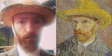 Vincent Van Gogh  Is A Brooklyn Hipster Who Takes Public ...