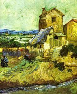 Vincent Van Gogh  Le vieux moulin  1888 Albright Knox Art ...