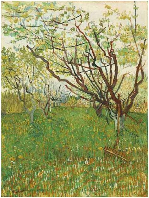 Vincent van Gogh Painting, Oil on Canvas Arles: March ...