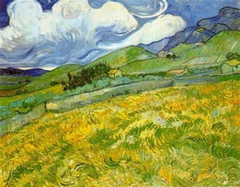 Vincent van Gogh – Landscape at Saint Remy – 1889   Van ...