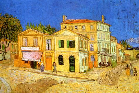 Vincent van Gogh s  Yellow House    painted 1888 | In May ...