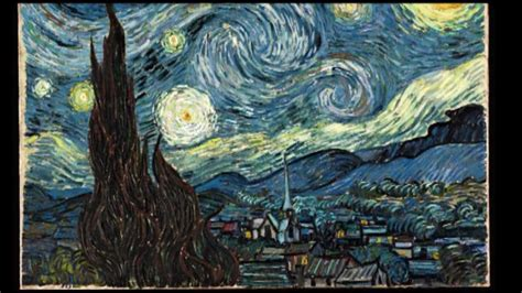 Vincent van Gogh   Starry Night   Monty s Minutes   YouTube