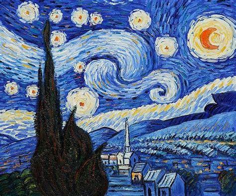 VINCENT VAN GOGH   Starry Night   oil  Vincent Van Gogh