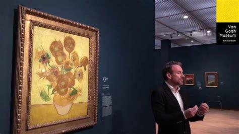 Vincent Van Gogh Sunflowers Live Amsterdam   YouTube