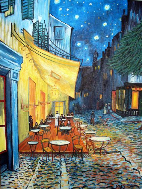 Vincent Van Gogh   Terraço do Café em Arles à Noite | Flickr