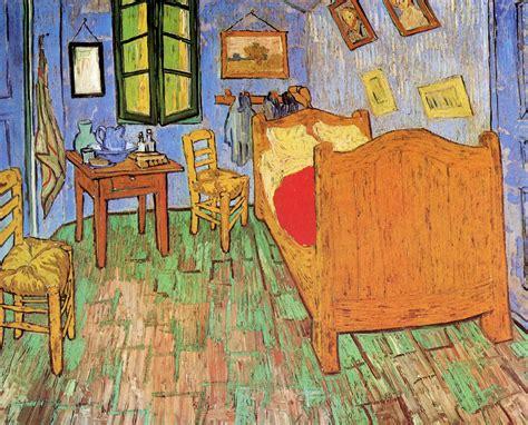 Vincent van Gogh   The Bedroom 1889, all three versions of ...