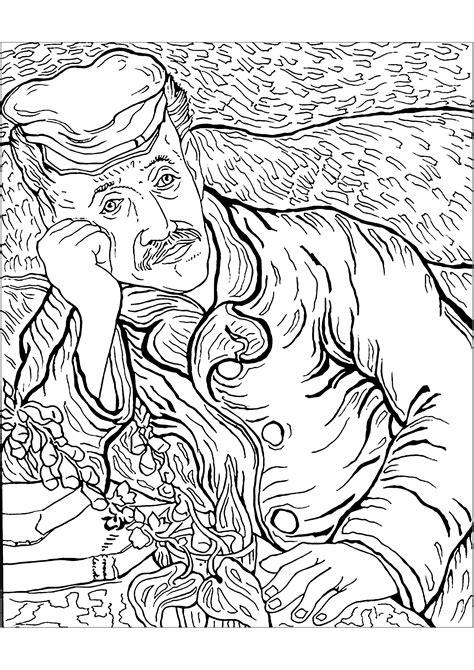 Vincent van gogh to print for free   Vincent Van Gogh Kids ...