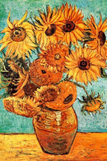 Vincent Van Gogh Vase with Twelve Sunflowers Art Print ...