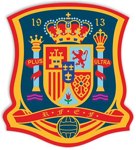 Vinilo decorativo Escudo Real Federación Española de Futbol
