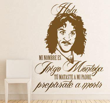Vinilo decorativo Iñigo Montoya   Vinilo, Vinilos, Iñigo ...