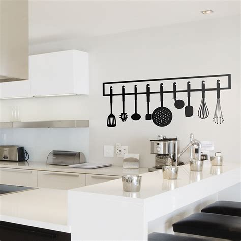 Vinilo decorativo Instrumentos de cocina | TeleAdhesivo.com