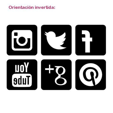 Vinilo iconos de las redes sociales