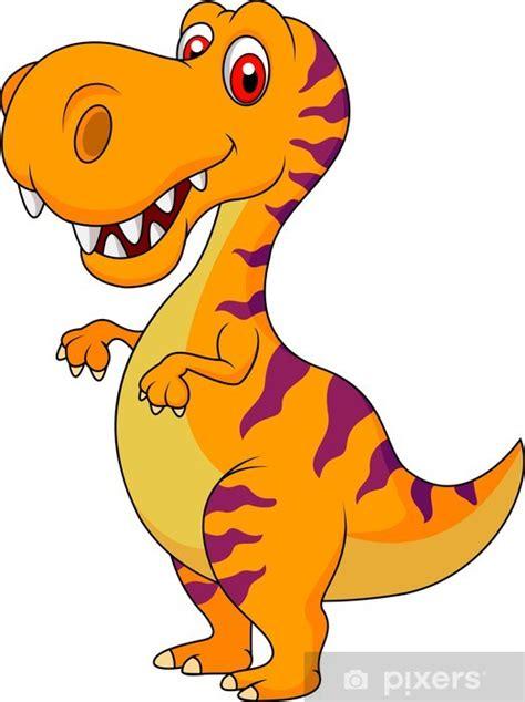 Vinilo Pixerstick Cute dibujos animados dinosaurio ...