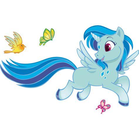 Vinilos Infantiles: Unicornio azul | LeoStickers