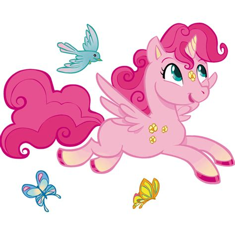 Vinilos Infantiles: Unicornio rosa | LeoStickers