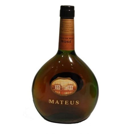Vino Mateus Rose, vino rosado de Portugal. Smartbites