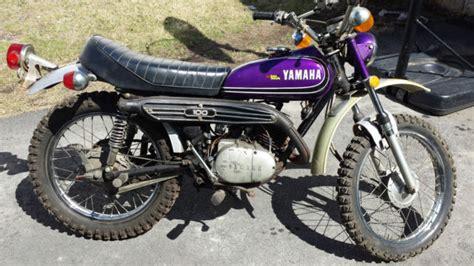 VINTAGE 1972 YAMAHA LT2 ENDURO 100