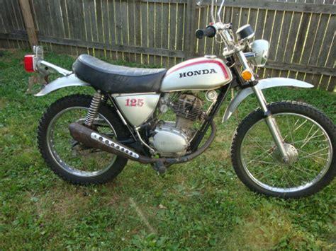 vintage 1973 honda sl125 motorcycle enduro sl 125 classic ...