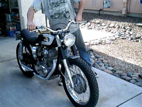 Vintage Ducati Scrambler 250   YouTube