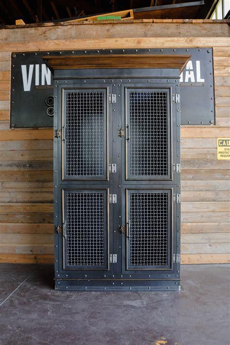 Vintage Industrial Armoire | Vintage Industrial Furniture