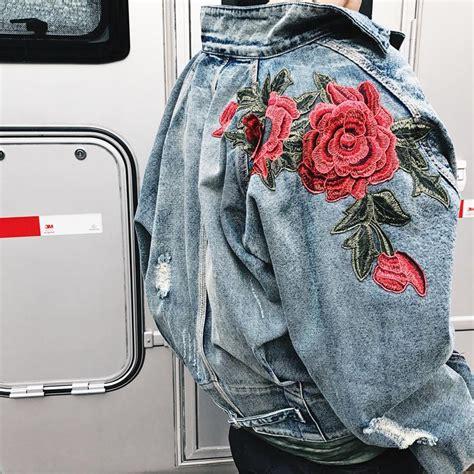 Vintage Rose Embroidery Jacket – fashionforeveruk