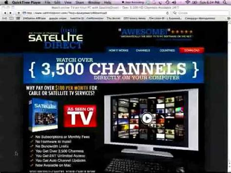 VIRAL VIDEO How to get Free Cable Satellite TV No More ...