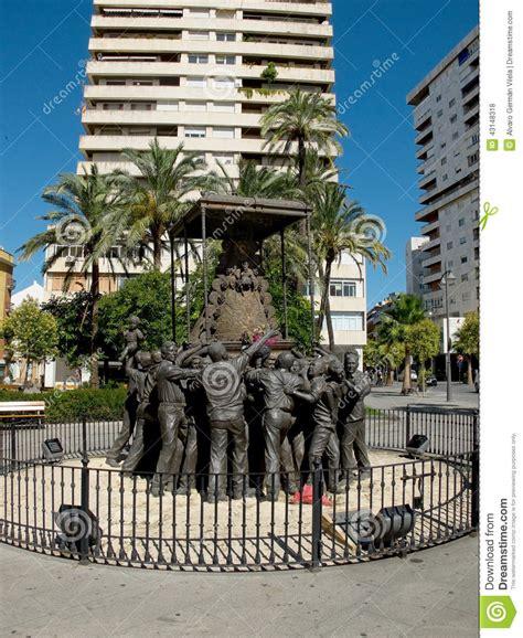 Virgen Del Rocio Monument. Huelva, Andalucia. Spain Stock ...