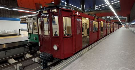 Virtualizan la exposición de trenes clásicos del metro de ...