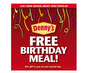 Visit Denny s for a FREE Meal On Your Birthday   Free ...