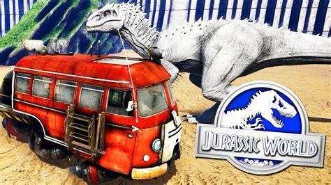 VISITA JURASSIC WORLD, TOUR POR EL PARQUE DE DINOSAURIOS ...