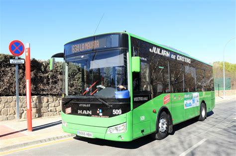 Visitamos la nueva línea 634  Colmenarejo – Galapagar ...