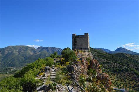 Visiting Zahara de la Sierra, Andalucia