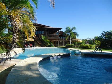 Vista desde la piscina   Picture of Hacienda El Jibarito ...