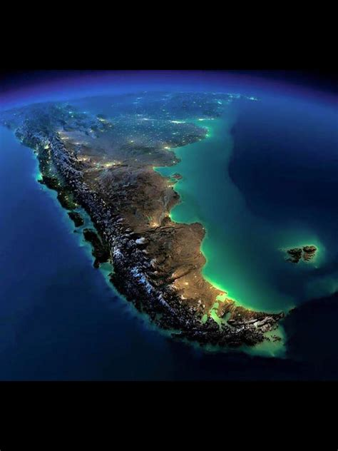 Vista satelital. Argentina en 2019   Viaje argentina, Foto ...